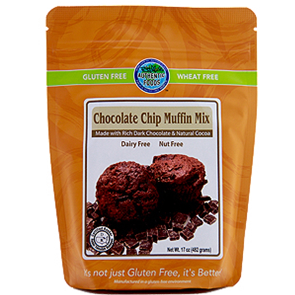 Gluten Free Chocolate Chip Muffin Mix