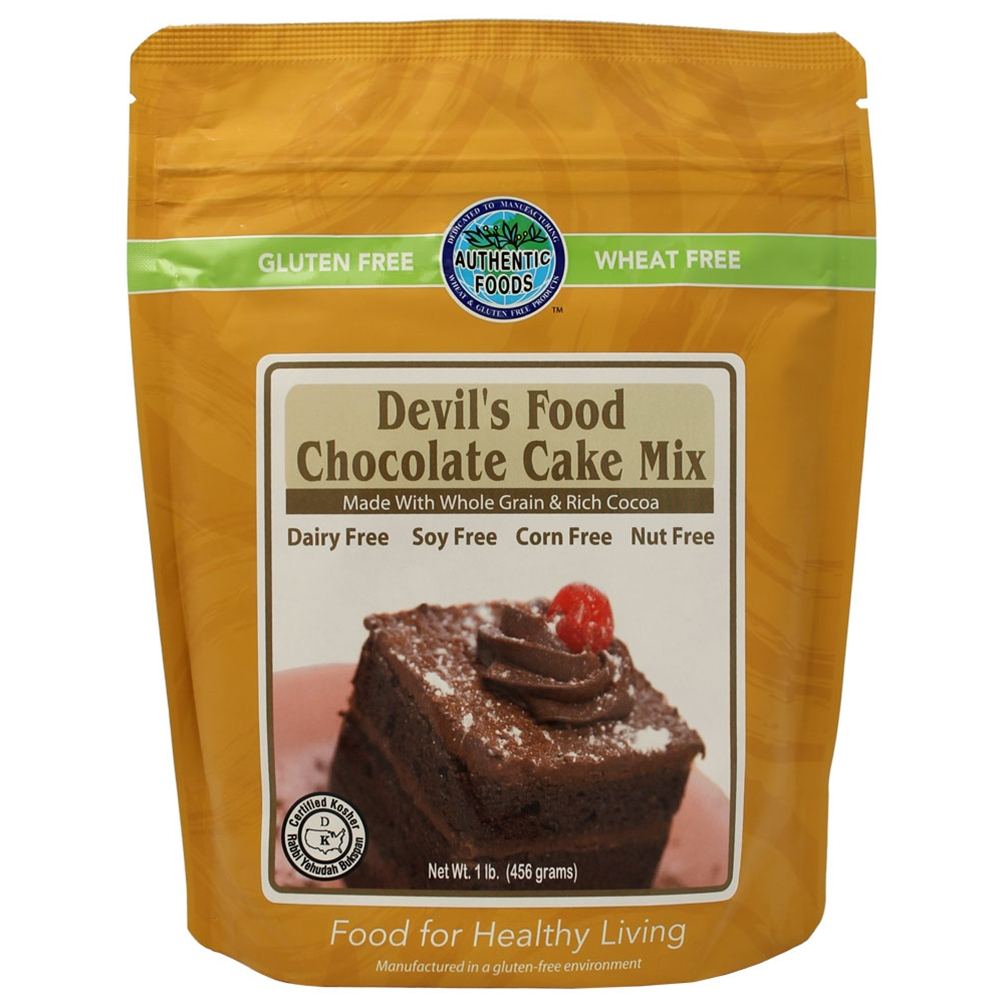 Gluten Free Devil's Food Chocolate Cake Mix