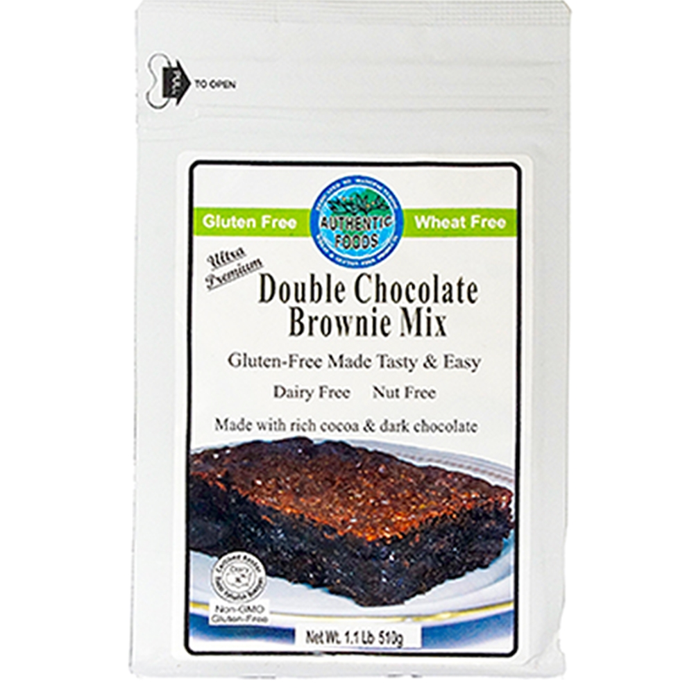 gluten free double chocolate brownie mix if you are a chocolate lover ...