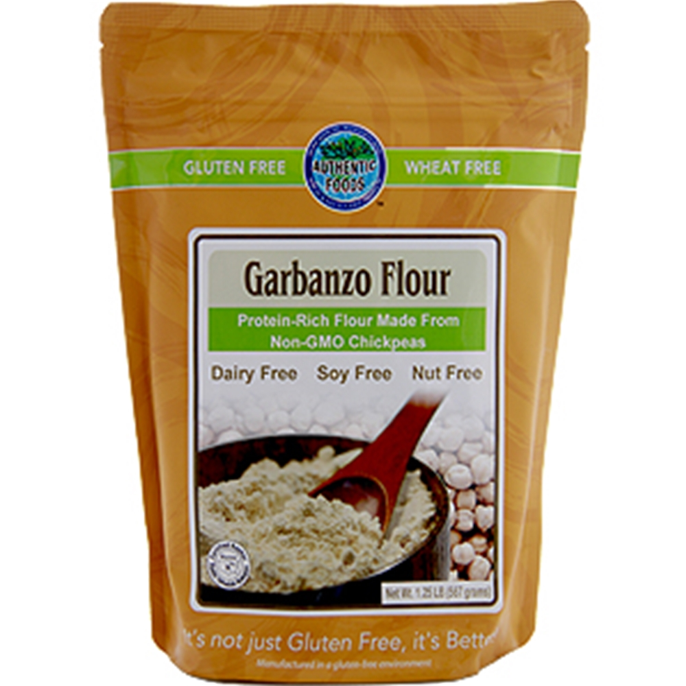Garbanzo Flour, also known as Chickpea Flour