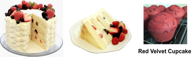 Gluten Free Vanilla Bean Cake Mix